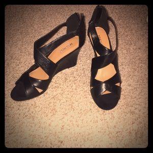 Nine West wrap sandals